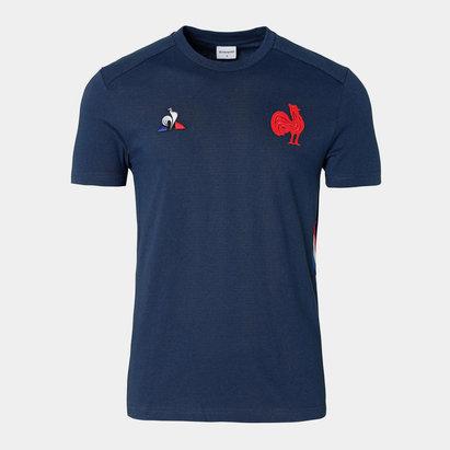 Le Coq Sportif T-shirt de rgby de présentation, France 2019/2020