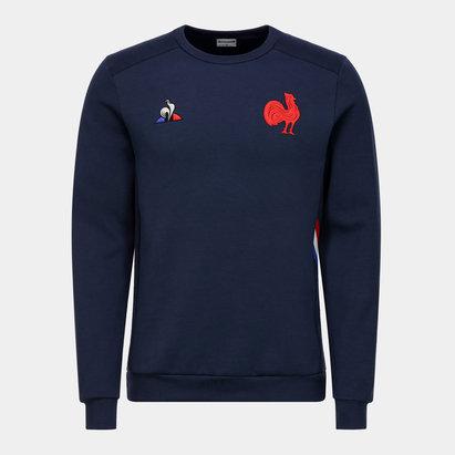 Le Coq Sportif Sweatshirt de présentation de l'Equipe de France de Rugby 2019/2020