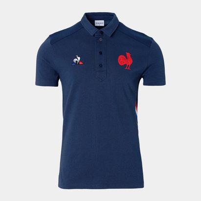 Le Coq Sportif Polo de présentation de l'Equipe de France de Rugby à XV