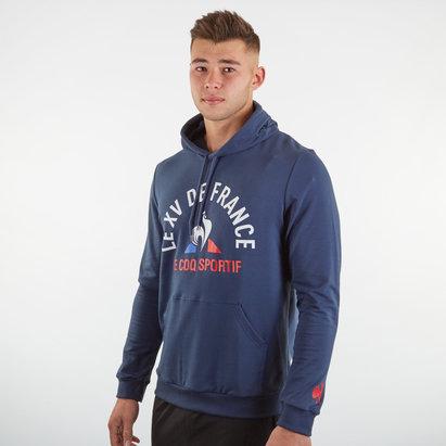 Le Coq Sportif Sweatshirt à capuche pour supporter France 2019/2020