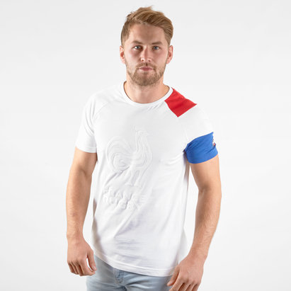 Le Coq Sportif T-shirt Supporters de Rugby France 2019/2020