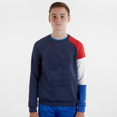 Le Coq Sportif Sweatshirt Equipe de rugby pour enfants, France 2019/2020