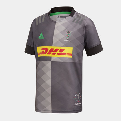 adidas Maillot de Rugby Replica Big Game pour enfants, Harlequins 2019/2020