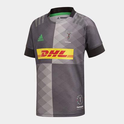 adidas Maillot de Rugby Replica Big Game pour ados, Harlequins 2019/2020