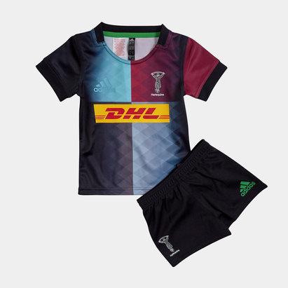adidas Kit Réplica de Rugby domicile pour enfants, Harlequins 2019/2021