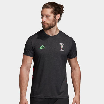 adidas T-shirt d'entraînement Performance Joueurs, Harlequins 2019/2020