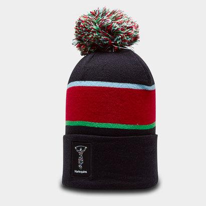 adidas Bonnet de Rugby avec pompon, Harlequins 2019/2020