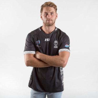 ISC Maillot de Rugby alternatif pour hommes, Fiji RWC 2019