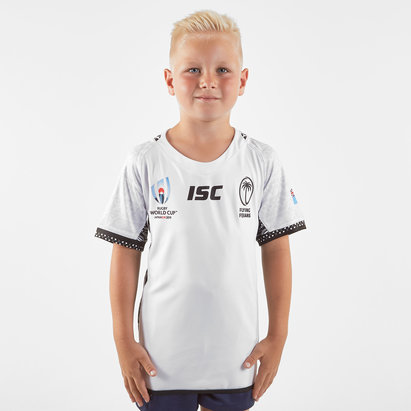 ISC Maillot de Rugby domicile pour enfants, Fiji RWC 2019