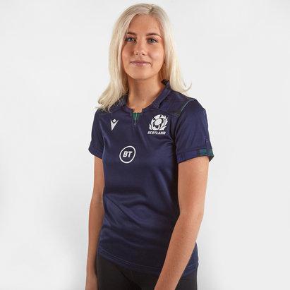 Macron Maillot Replica de Rugby pour Femmes, Écosse domicile 2019/2020
