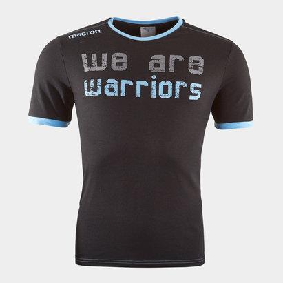 Macron T-shirt de Rugby pour déplacement, Glasgow Warriors 2018/2019 joueurs