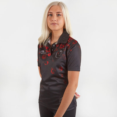 Samurai Army Rugby Union Remembrance, Maillot de Rugby Poppy Day pour femmes