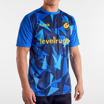 VX3 T-shirt chauffant de Rugby pour l'entraînement, Dragons 2019/2020