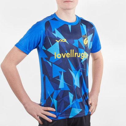 VX3 T-shirt d'entraînement chauffant pour Rugby, Dragons 2019/2020, pour enfants