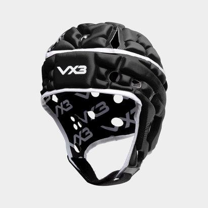 VX3 Casque de Rugby Airflow noir et blanc