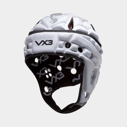 VX3 Casque de Rugby Airflow blanc et noir