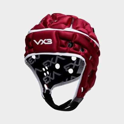 VX3 Casque de Rugby Airflow Bordeaux