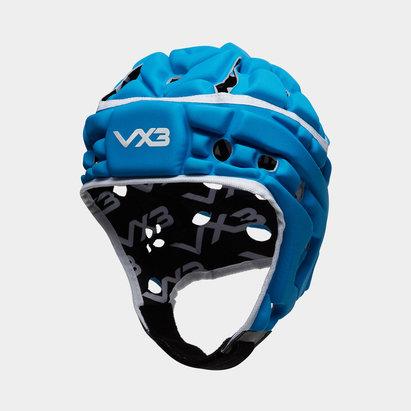 VX3 Casque de Rugby Airflow Bleu/Blanc