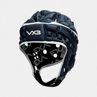 VX3 Casque de Rugby Airflow en Bleu Marin et blanc