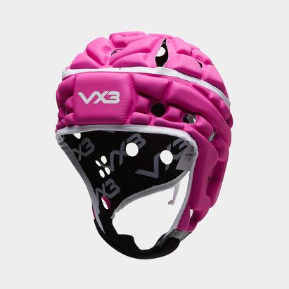 VX3 Casque de Rugby Airflow en rose et blanc