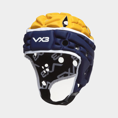 VX3 Casque de Rugby Airflow Bleu/Or