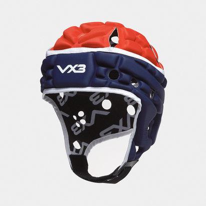 VX3 Casque de Rugby Airflow bleu marin/rouge