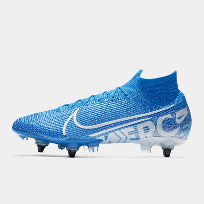 Nike Mercurial Superfly Elite DF, Crampons de Football pour hommes, Terrain mou