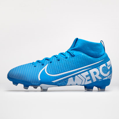Nike Mercurial Superfly VII Academy FG/MG, crampons de football pour enfants