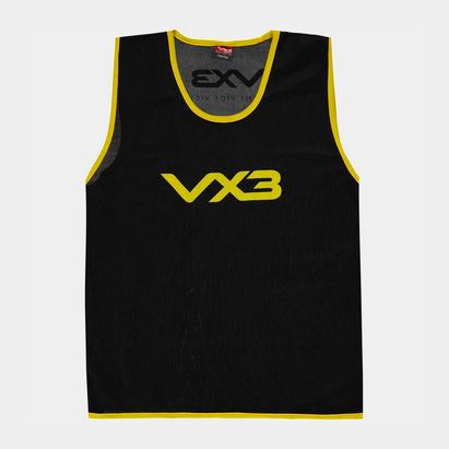 VX-3 3 Dossards d'entraînement pour hommes en noir