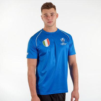 T-shirt de Rugby Italie, Coupe du monde RWC 2019