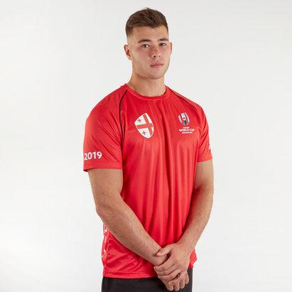 T-shirt de Rugby Géorgie, Coupe du monde RWC 2019