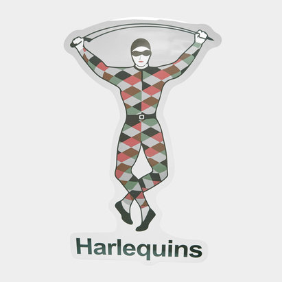 Harlequins Car Sticker