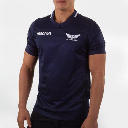 Macron Scarlets, Maillot de Rugby d'entraînement joueurs 2019/2020