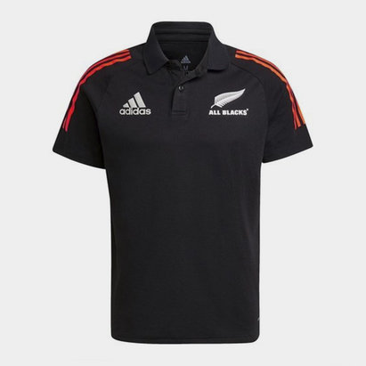 adidas New Zealand All Blacks Polo Shirt Mens