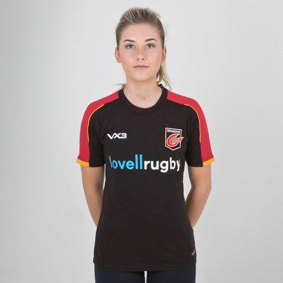 VX-3 Dragons 2018/19 - Tshirt de Rugby Pro Femmes