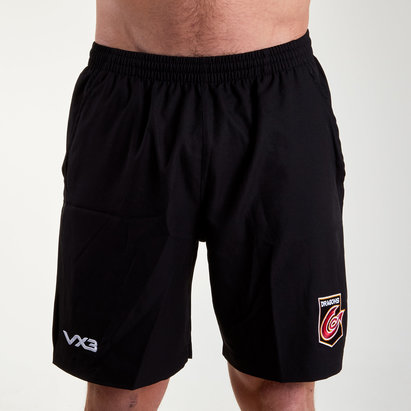 VX3 Dragons 2018/19 - Shorts de Rugby Gym Core