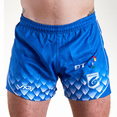 VX3 Dragons 2018/19 - Shorts de Rugby Alterné