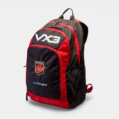 VX-3 Dragons 2018/19, Sac à dos Pro pour Rugby
