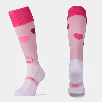 Wacky Sox Wackysox Love Hearts - Chaussettes de Rugby