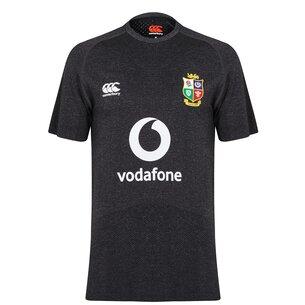 Canterbury British and Irish Lions Polyester Seamless T Shirt Mens