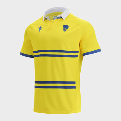 Macron Auvergne 2022 Home Rugby Jersey Mens