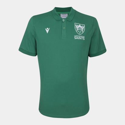 Macron Northampton Saints 21/22 Polo Shirt Mens