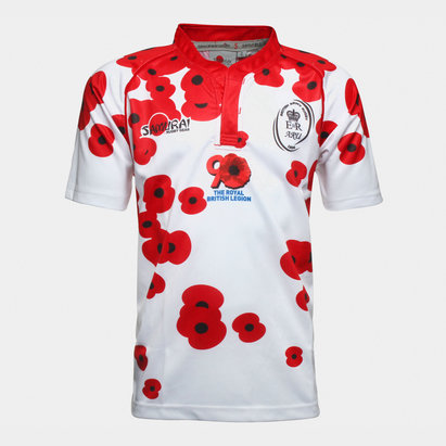 Samurai British Army - Maillot de Rugby Poppy Appeal