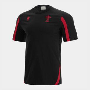 Macron Wales 21/22 Training T-Shirt Mens