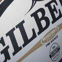 Revolution X - Ballon de match de Rugby Gilbert Blanc/Noir