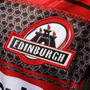 Edimbourg 2015/16 - Maillot de Rugby Réplique à Domicile MC