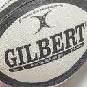 Gilbert Barbarians - Mini Ballon de Rugby Réplique Officielle