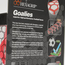 Lacets de Football Performance Hexagrip Blanc