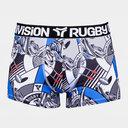 Rugby Division Bankster Graphique - Short Boxer