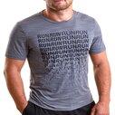 T-shirt d'entrainement manches courtes, Activchill Graphic Run